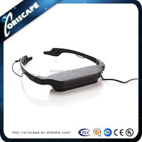 "68"" Virtual Reality 3D Video Glasses, Portable Mini 3D Display Video Eyewear"