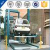 pjs 2 post simple cheapest car triple stacker parking lift