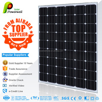 235w Monocrystalline solar module high efficiency fiexible solar panel china price with all certificates