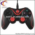 whosales para sony play station 3 usb controlador con conexión de cable para ps3