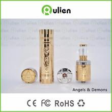 dx 80 box mod Rulien original design mechanical mod and rda angels and demons mod