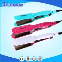 Shinon new design ceramic coating flat hair iron