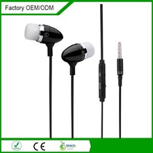 Tube package Cheap metal earphone mobile phone accessories factory