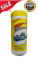 2015 Best Selling Eco-Friendly Kitchen Cleaning Wet Wipes