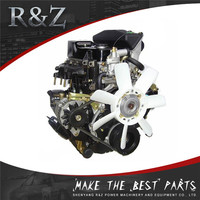 High performance water cooled 4-cylinder 500cc diesel engine