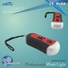 Camping long distance Powerful ABS led torch Geepas& rechargeable Flashlight series