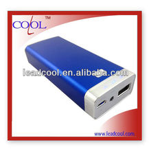 Rechargeable external battery charger for smartphone