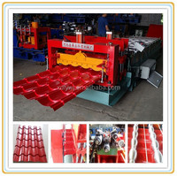whole life after sale service roll forming machine supplier glazed tile profile glazed roofing making machine