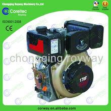 single cylinder air cooled diesel engine, 2013 hot selling new model 20 hp diesel engine for sale