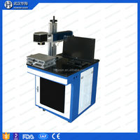 Hot Sale Cheap Fiber 10W Laser Engraver for Module parts with good effect
