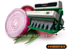 onion slices color sorter, dehydrated vegetables color sorter