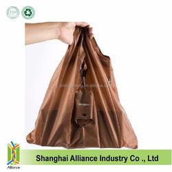 Wholesale Reusable Nylon Folding Shopping Tote Bag