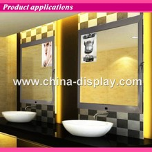 Magic Mirror Sensor Led Light Box Show Picture