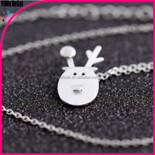 Christmas presents the new 925 sterling silver fashion stay of fawn necklace