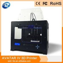 metal body 3d printer 2014 dual color,similar stratasys 3d printer,office printing machine
