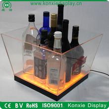 custom led moet chandon beer acrylic glass ice bucket 100 cooler wholesale