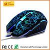 Fashionable Promotional 3D gaming mouse wired Optical gaming mouse for computer and laptop