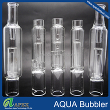 2015 Newest product smoking glass pipe clear glass smoking pipes