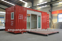 Prefab shipping living container houses/Carport/coffee room/ movable container home with CE and ISO9001