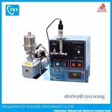 """Compact Plasma Cleaning system with Digital Vacuum Gauge , 3""""Dx 6.5""""L Quartz Chamber, 13.56 Mhz -EQ-PCE-3"""