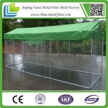 Alibaba China - beautiful chain link large dog fence 6x10x6 dog kennels