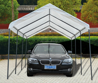 LG-HD4001 Yongkang LanGe metal and PVC simple folding pergola,folding carport