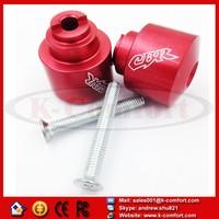 KCM328 For Motorcycle Honda CBR 600 900 929 954 1000 1100 RR F4i F4 1986-2012 Red Hand Bar Ends