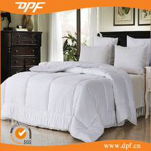 100% Cotton Sateen Fabric with Embroidery Logo Hotel Collection Duvet