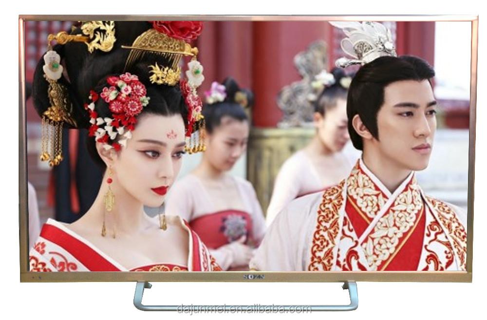 2016 42 дюймов плоский экран 3d led-телевизор Wifi android smart tv