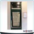 De rotura térmica de aluminio toldo ventana