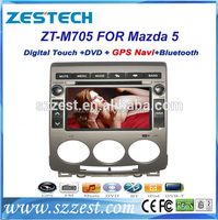 ZESTECH car gps navigation system for Mazda 5 car stereo with DVD +3G+BLUTOOTH +AM/FM+USB/SD +GPS