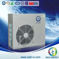Superior Quality and Efficiency air source heat pump heating and air hotel units for kindergarten