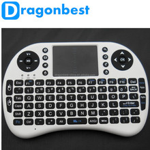 Top Quality Brand New Rii i8 Wireless 2.4G Mini Keyboard Touchpad Mouse for Android TV Box HTPC Win7