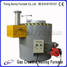 homestyle high sales crucible glass melting furnace