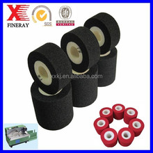 Black High quality Fineray brand XJ type HOT INK PRINTING ROLLER for printing date Using in pharmacy,food,packaging industries