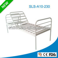Epoxy Coated /Stainless Steel Adult Hospital Cot Bed without Guardrails