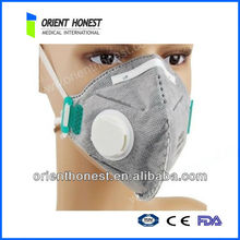 High quality non woven active carbon N95 face mask with 4 plys