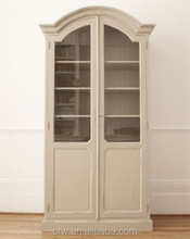 WH-4085 French Style Display Showcase Wooden Cabinet