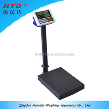 outdoor weight bench platform scale 300kg