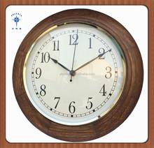 China wood cock dials to print modern wall clock