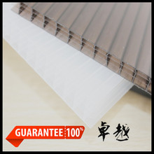 quality guarantee protective polycarbonate plastic pc hollow sheet