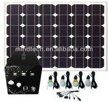 60W solar system for home lighting