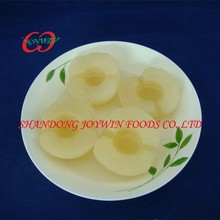 Top quality canned pear halves in light syrup, pear canning syrup