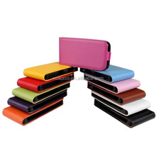 Color Flip Real Leather Case Cover For HTC Desire 500 phone case