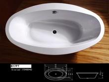 B17PT Hot Sale Bathtubs With Jets Large Bathtub Supplier Bathroom Vanities Factory