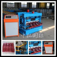 glazed roof forming machine price, glazed tile color steel forming machine