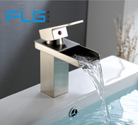 Water Faucet European Style Brushed Nickel