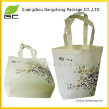 Customied reusable eco silk shopping bags