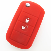 2015 great design eco-friendly colorful silicone car key cover for LAND ROVER