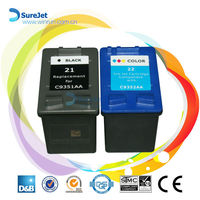 Wholesale in china C9351A printers compatible ink cartridge for hp 21 22